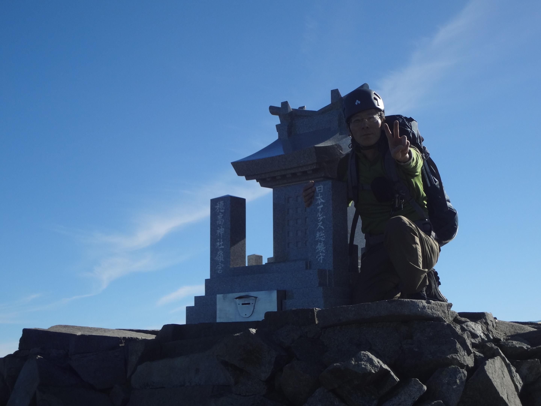 2019.8.11 奥穂高岳登山