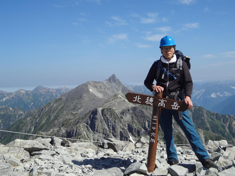 北穂高岳登山